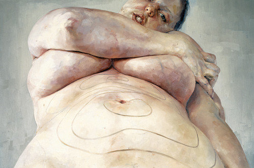 JENNY SAVILLE, PLAN (1993). PHOTO: COURTESY OF ARTNET.