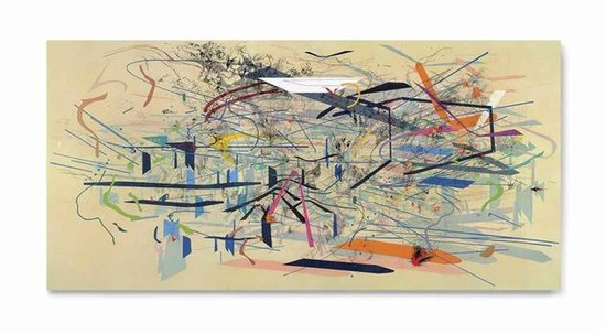 JULIE MEHRETU, RETOPISTICS: A RENEGADE EXCAVATION (2001). PHOTO: COURTESY OF ARTNET.